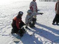 snowkiting na božáku