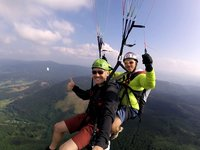 Selfíčko s pilotem - lokalita Beskydy
