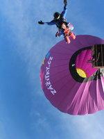 Seskok z balónu je exkluzivní zážitek, který musíte zažít.