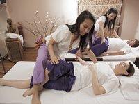 užijte si masáž společně s partnerem