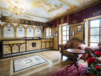 Nádherné barokní prostory vás okouzlí.