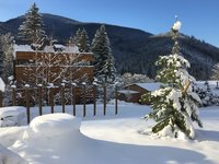 Zimní pohádka beskydských lesů v  Garden hotelu U Holubů