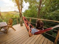 Ubytování v domku na stromě