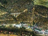 Úchvatný železniční most Žampach.