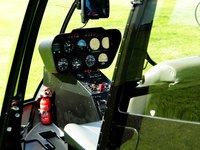 z kabiny vrtulníku