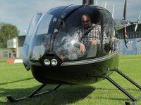 vrtulník Robinson R-44
