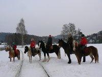 Vyjížďka na koni