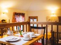 Snídaňová restaurace v hotelu Maltézský kříž Karlovy Vary