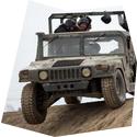 Divoký Hummer 2 v 1, , 3 osoby, 30 minut