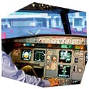 Pilotem dopravního letadla Airbus 320, , 3 osoby, 1 hodina