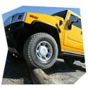 Projížďka v terénním voze Hummer H2, , 2 spolujezdci, 1 osoba, 5