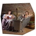 Relax v pivních lázních pro dva, , 2 osoby, 3 hodiny